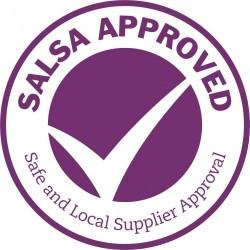 Salsa accreditation logo
