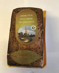 Brussels pate in packaging