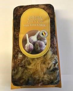 garlic pate in packaging